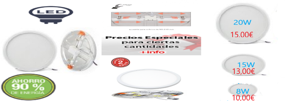 EMPOTRABLES LED CORTE ADJUSTABLE